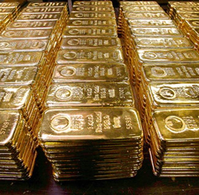 Giá vàng cao nhất trong 6 tuần