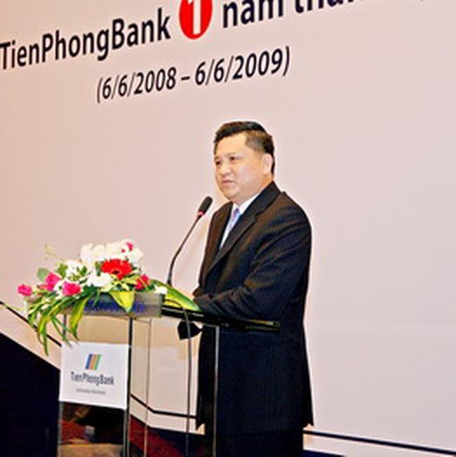Tienphongbank sẽ tăng vốn điều lệ làm 2 đợt