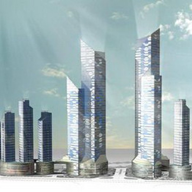 Căn hộ dự án U silk – City: Giá bán từ 1.500 USD – 2.500 USD/m2