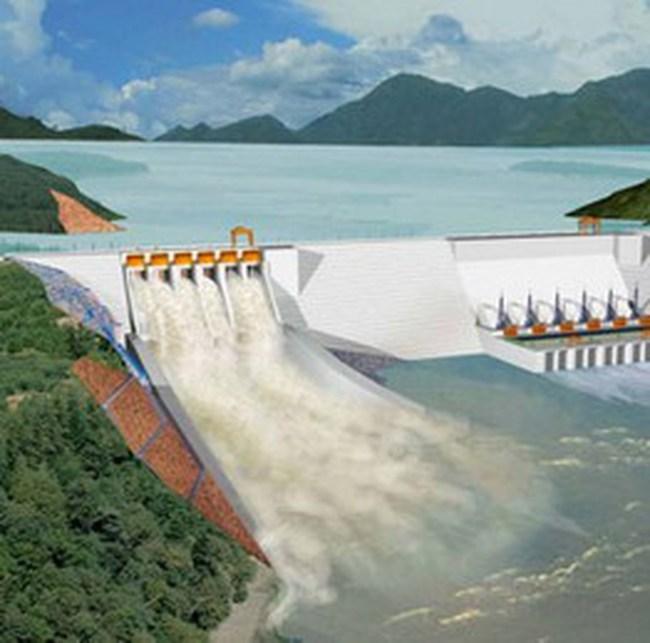 Cho phép cho vay tối đa với thủy điện Huội Quảng