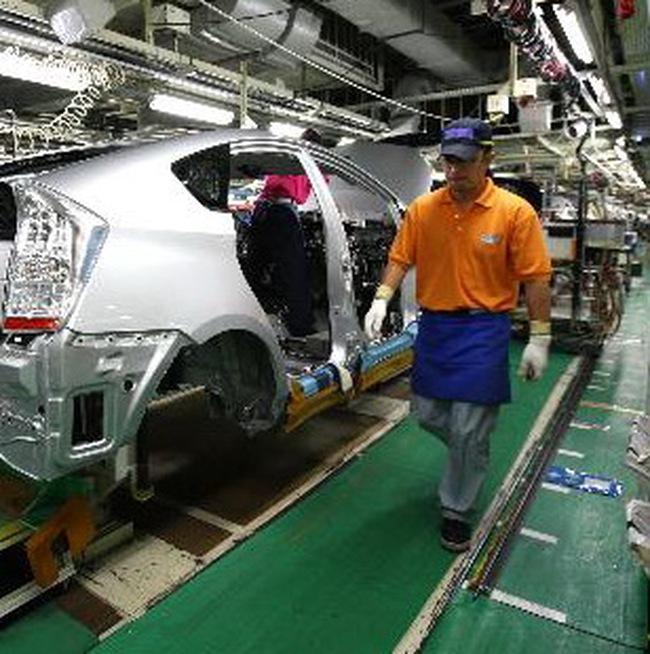 Sản xuất Nhật tăng trưởng 4 tháng liên tiếp
