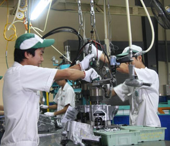 Sản xuất công nghiệp tiếp tục duy trì tăng trưởng