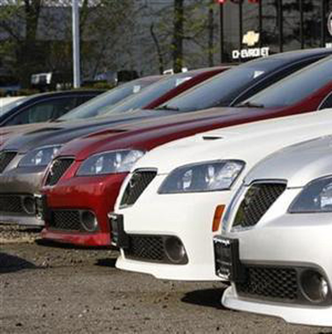 Doanh số ô tô Mỹ tháng 7/2009 lập kỷ lục của năm 2009