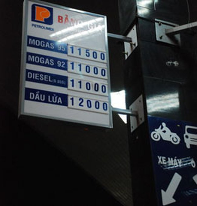 Bộ Tài chính chưa có quyết định tăng giá xăng dầu