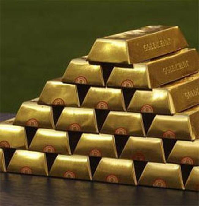 Giá vàng giảm xuống 21,35 triệu đồng/lượng