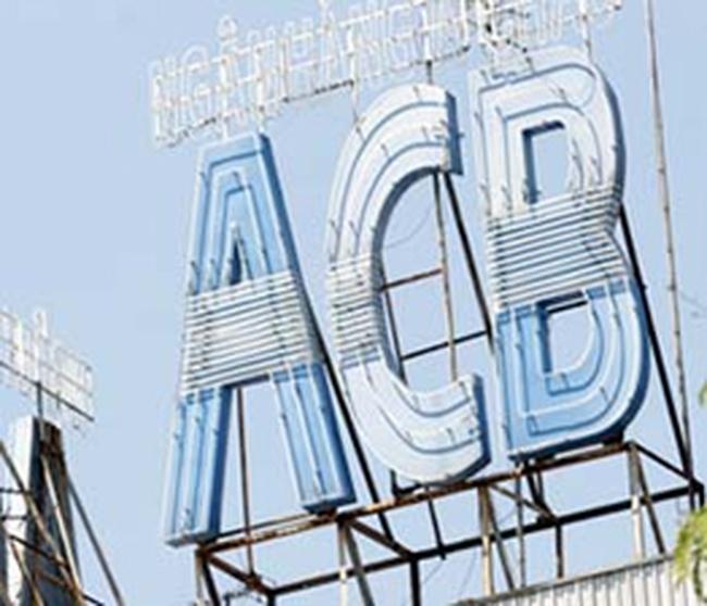 ACB: Lợi nhuận hợp nhất 6 tháng đạt 1.331 tỷ đồng