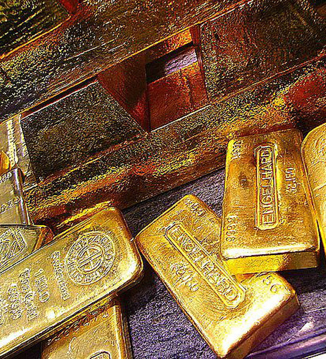Giá vàng lùi về mức 21,3 triệu đồng/lượng