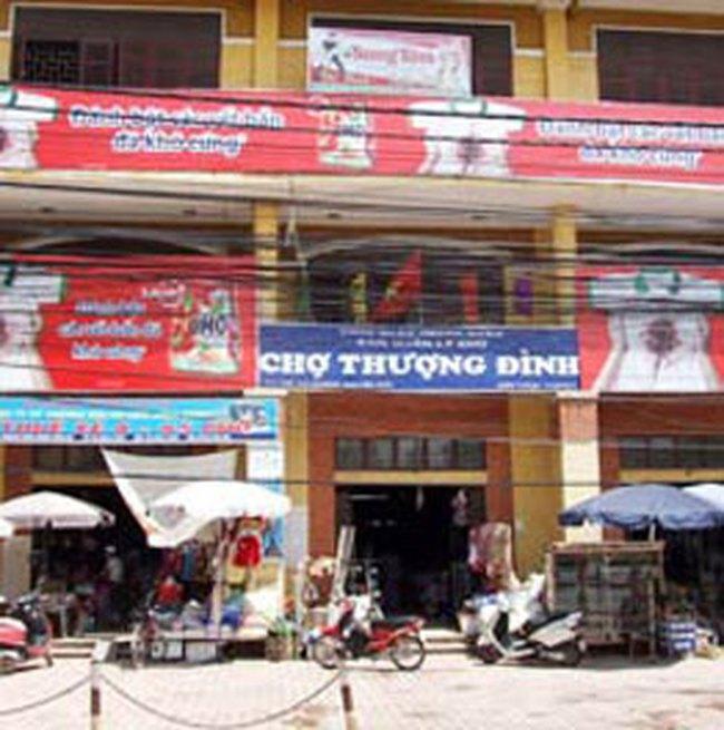 Hà Nội xây mới 16 chợ