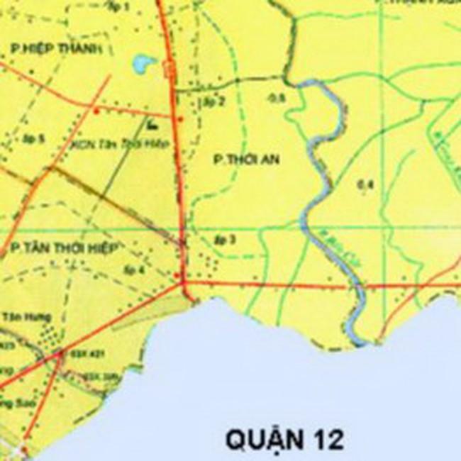TP.HCM: Quy hoạch Khu trung tâm dân cư quận 12