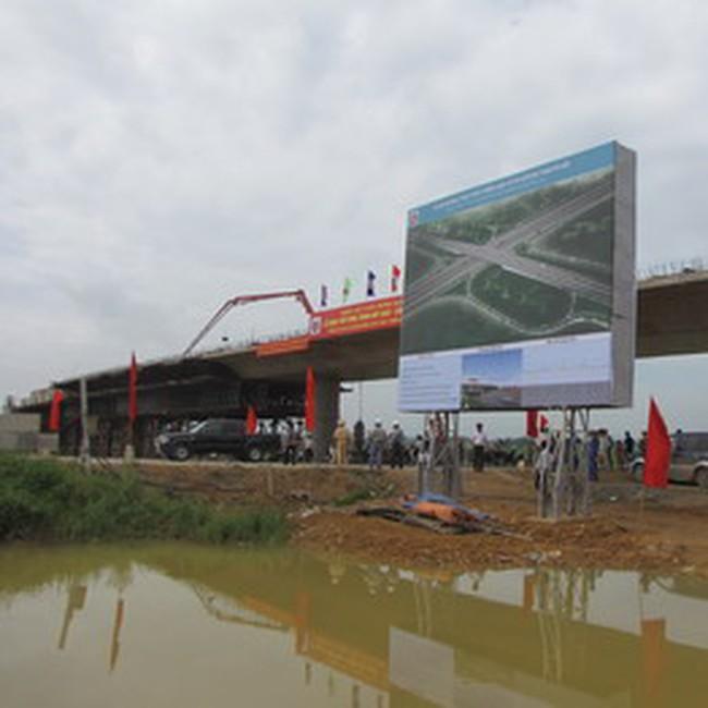 Động thổ nút giao thông Láng Hòa Lạc – Đường trục kinh tế Bắc Nam