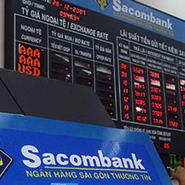 Sacombank đạt 1.041 tỷ đồng lợi nhuận trước thuế trong 7 tháng