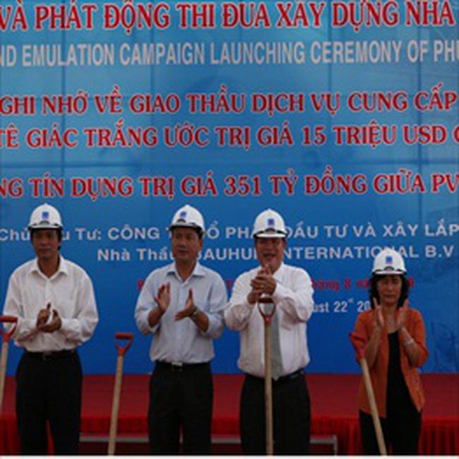 Xây dựng nhà máy bọc ống đầu tiên của Việt Nam