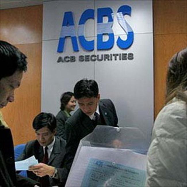 ACBS đạt 191 tỷ đồng lợi nhuận trước thuế 7 tháng đầu năm