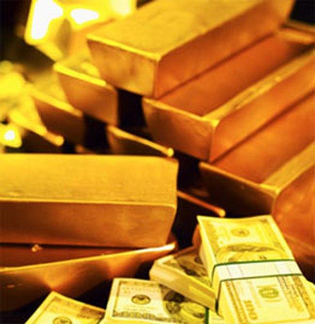 Giá vàng giảm 60.000 đồng/lượng