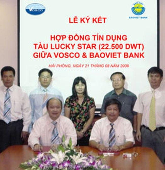 Baovietbank tài trợ 175 tỷ đồng cho dự án đóng tàu