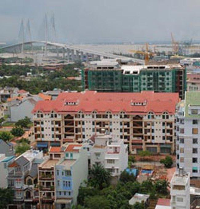 Nhà, đất nóng theo cầu Phú Mỹ
