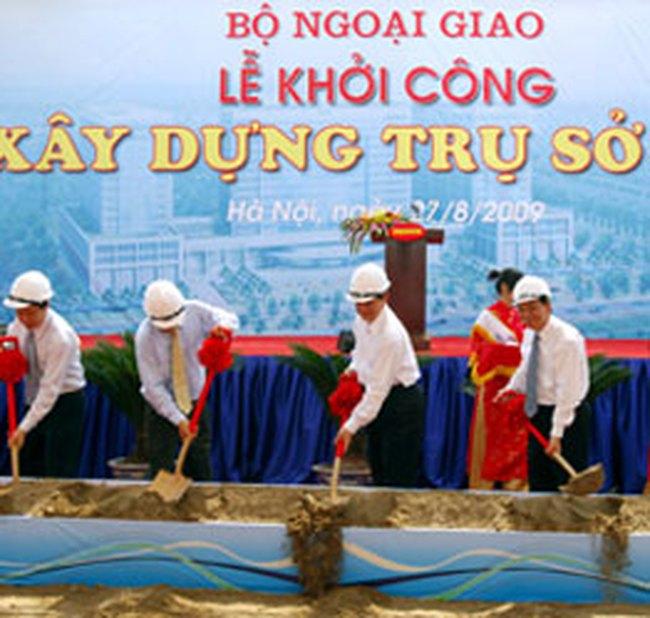 Khởi công xây dựng trụ sở Bộ Ngoại giao
