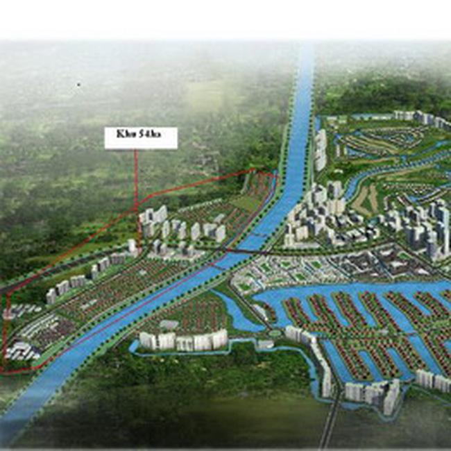 Khởi công khu đô thị sinh thái lớn nhất miền Bắc