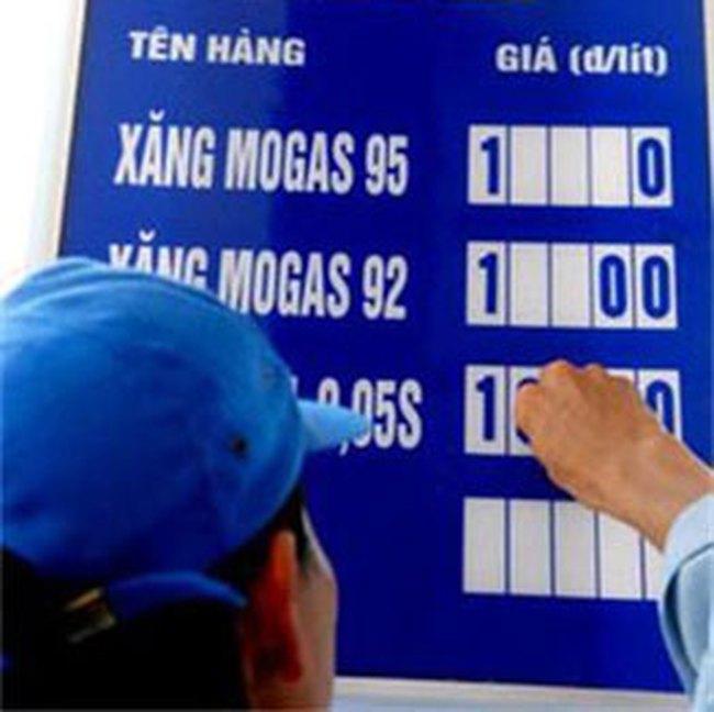 Xăng, dầu diezel tăng 1.000 đồng/lít