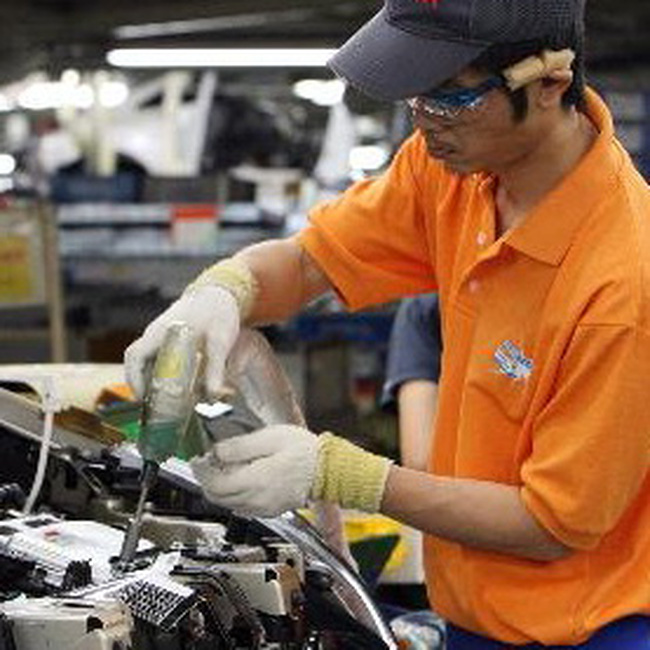 Sản xuất Nhật tăng trưởng tháng thứ 5 liên tiếp