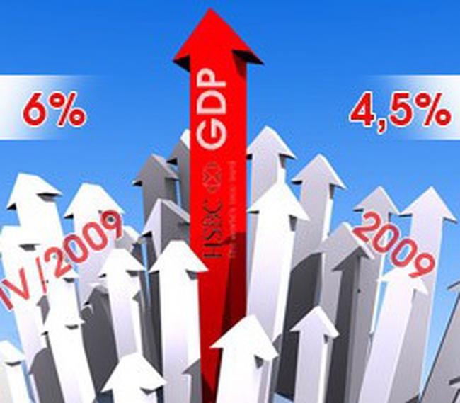 Năm 2009: GDP quý sau hơn quý trước