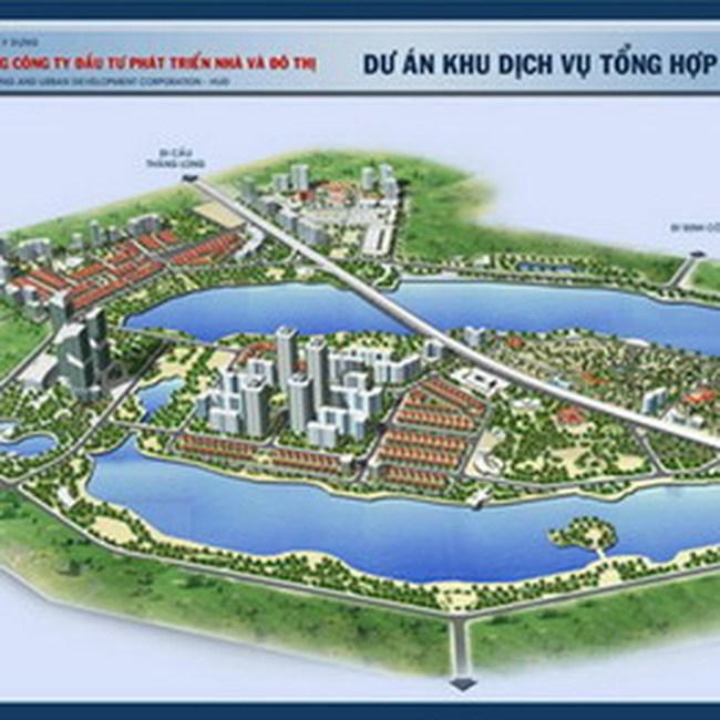 HUD tiếp tục thực hiện Khu đô thị Nam hồ Linh Đàm và Mai Trai - Nghĩa Phủ, Sơn Tây