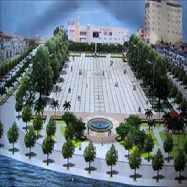 Doanh nghiệp tư thi công quảng trường thành phố Vĩnh Long