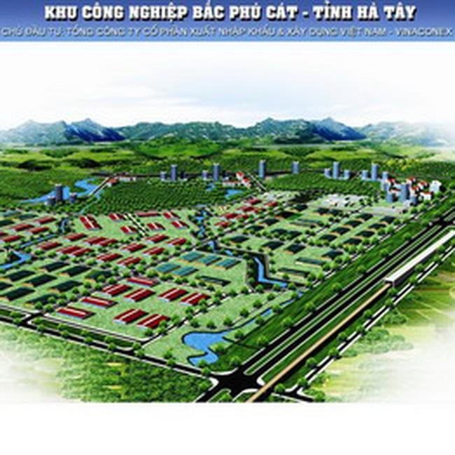 VCG: Sáp nhập KCN Bắc Phú Cát vào Khu công nghệ cao Hòa Lạc