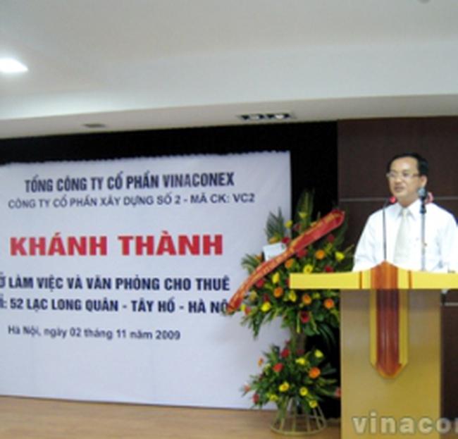 VC2: Khánh thành Trụ sở Văn phòng làm việc và cho thuê tại 52 Lạc Long Quân