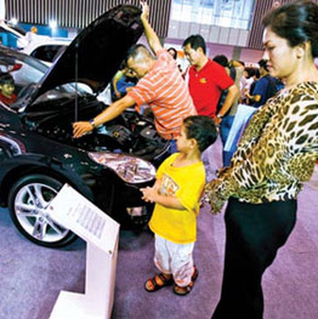 Thị trường ô tô tháng 10 tăng mạnh