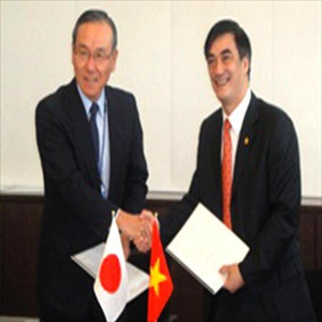 Nhật Bản tài trợ cho Việt Nam 1334 triệu USD