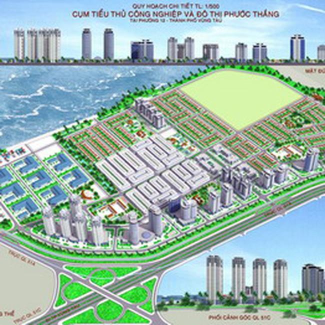 HDC: Quy hoạch 1/500 cụm tiêu thủ công nghiệp và đô thị Phước Thắng