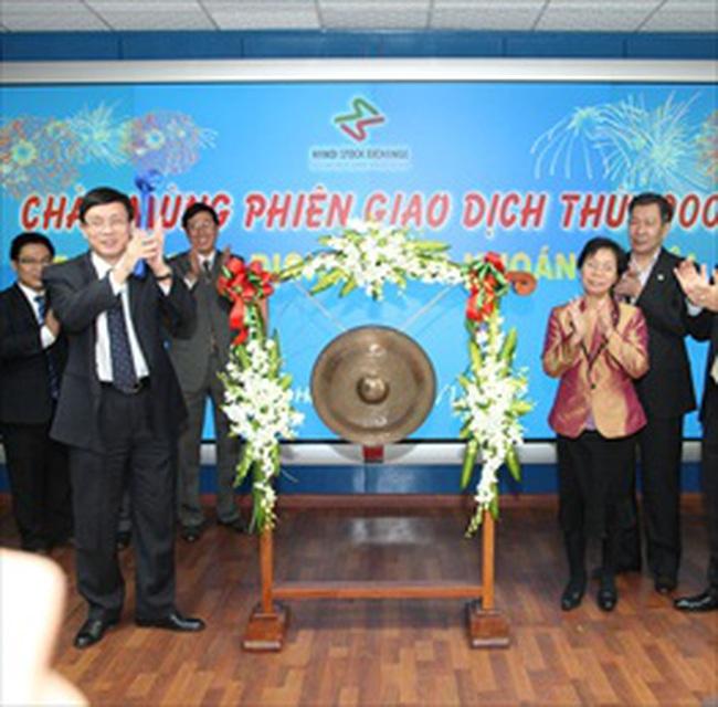 Ngày 18/11: Phiên giao dịch thứ 1000 tại Sở giao dịch chứng khoán Hà Nội