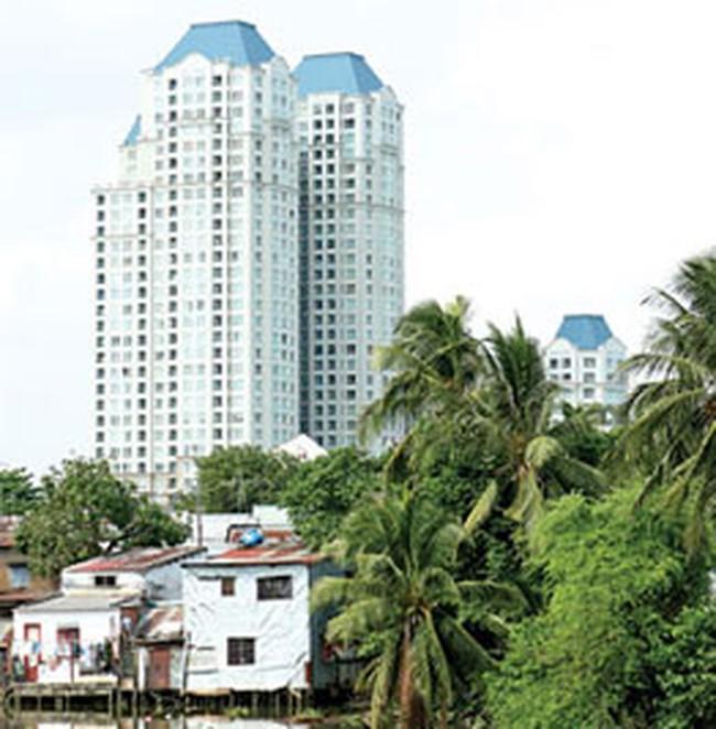 Nguồn cung căn hộ tăng gấp đôi tại TP.HCM vào năm 2012