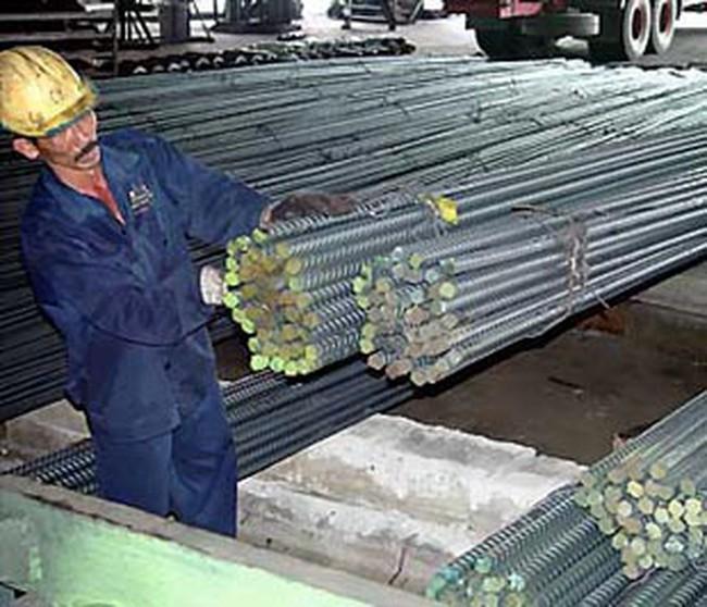 Một số doanh nghiệp tăng giá bán thép