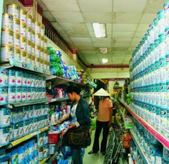 Giá sữa trên thị trường Việt Nam vẫn tăng cao