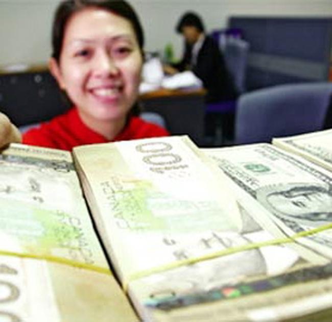 Năm nay kiều hối ước đạt 5,8 tỉ đô la Mỹ