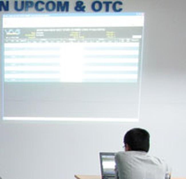 Thị trường OTC vẫn trầm lắng