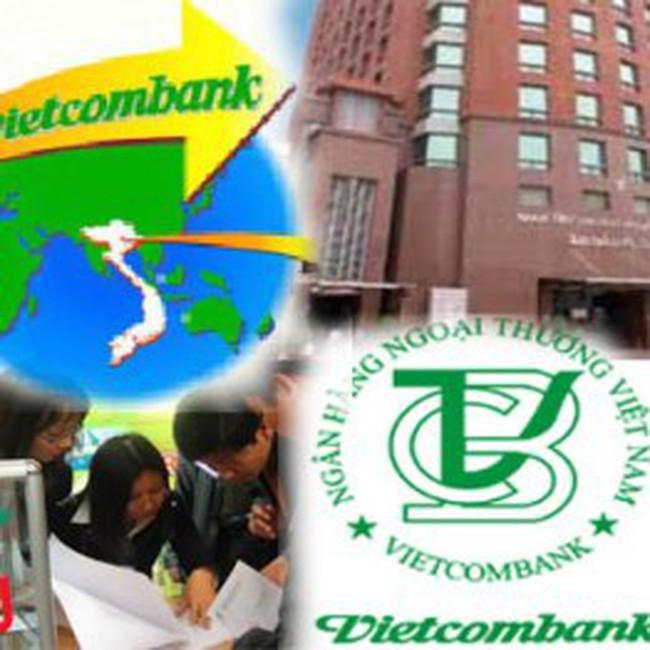 VCB: 100 cổ phiếu được mua 9,28 cổ phiếu mới với giá 10.000 đồng/cp