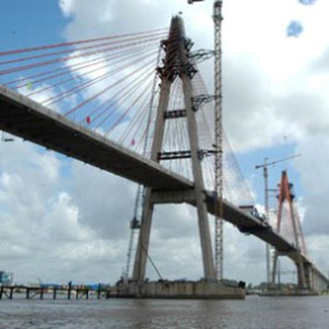 Công bố dự án xây cầu Cổ Chiên, nối Tiền Giang - Bến Tre - Trà Vinh - Sóc Trăng