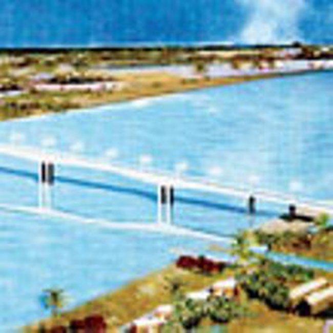 Chuẩn bị đưa vào sử dụng cầu Hàm Luông