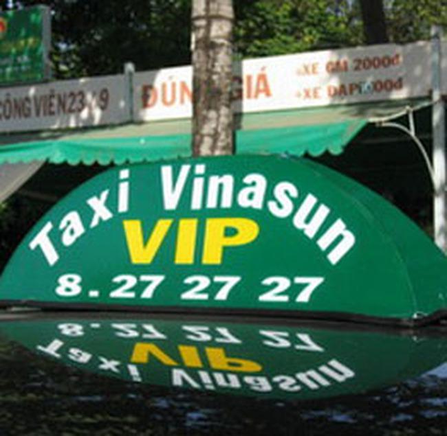 """Doanh nghiệp taxi TP.HCM """"bể"""" kế hoạch"""