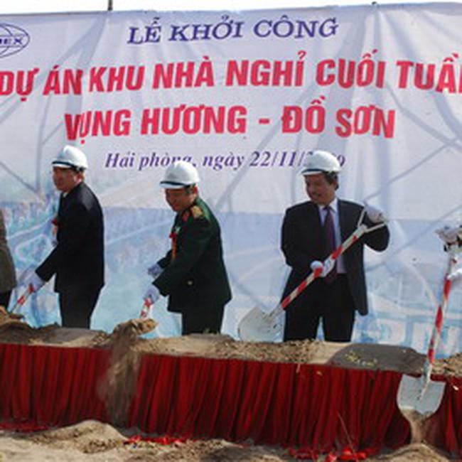 Vinaconex 15 đầu tư 500 tỷ đồng xây dựng Khu nhà nghỉ dưỡng Vụng Hương