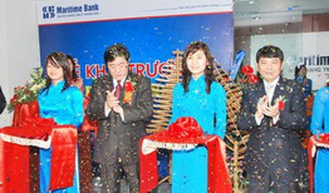 Thành lập công ty Quản lý nợ và Khai thác tài sản Maritime Bank AMC