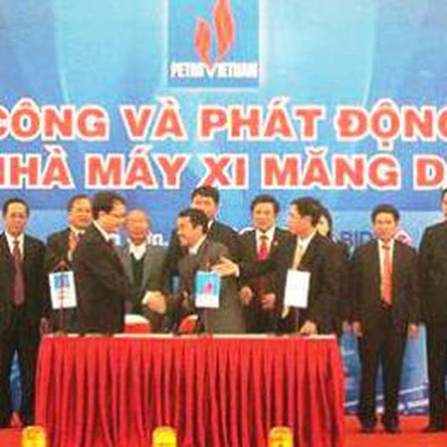 PVX: Khởi công nhà máy xi măng dầu khí 12/9 với mức đầu tư 814 tỷ đồng