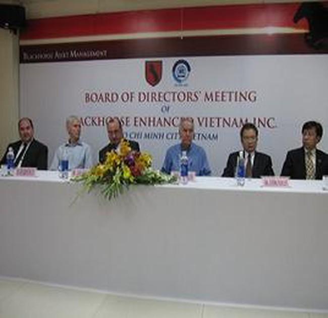 2 cựu Hạ Nghị sỹ Mỹ tham gia vào HĐQT của Quỹ BlackHorse Enhanced Vietnam Inc