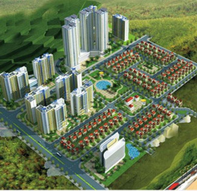 Khu đô thị Giang Điền có vốn đầu tư 450 tỷ đồng