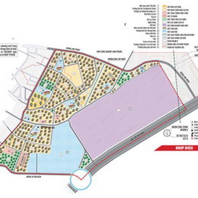 TP HCM: Quy hoạch chi tiết xây dựng khu nhà ở Linh Trung, Thủ Đức