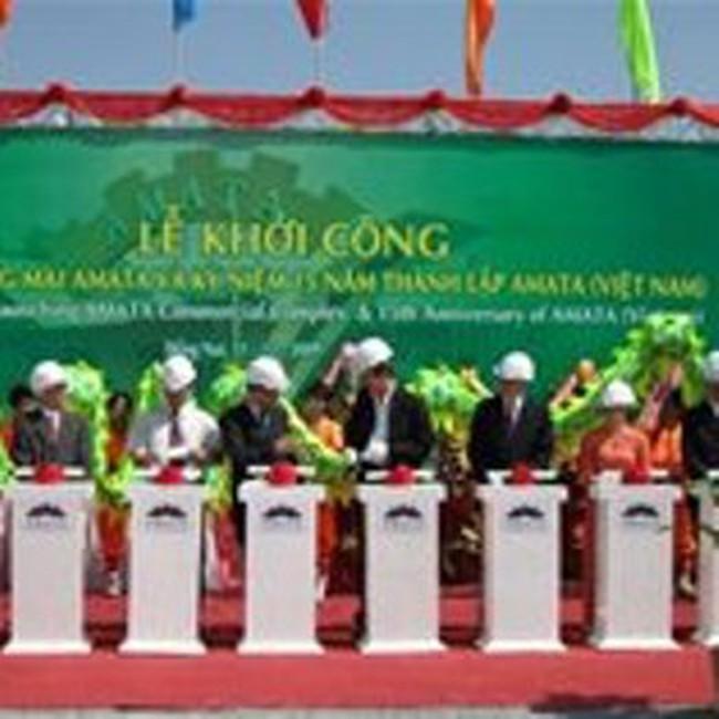 Khởi công xây dựng Khu thương mại tại KCN Amata, Biên Hòa