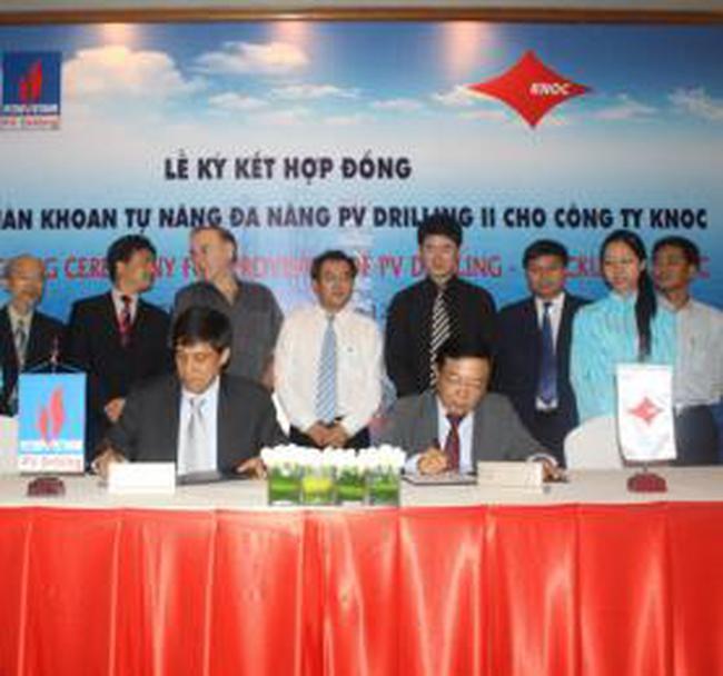 PVD:  Tăng số hợp đồng cung cấp giàn khoan